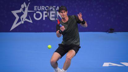 Murray al zwoegend naar halve finales in Antwerpen - Flipkens uitgeschakeld in kwartfinales Moskou