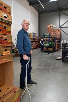 Noodgedwongen afscheid van voedselbank in Woerden valt voorzitter zwaar