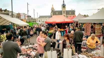 Een donderdagse én zondagse markt: vanaf deze week meteen twee markten in Sint-Niklaas
