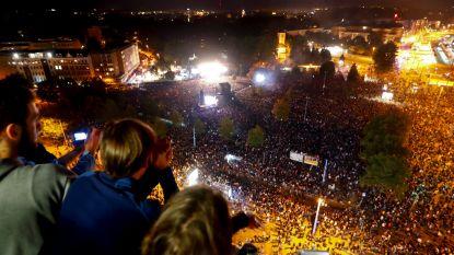 """""""Wij zijn met meer"""": tienduizenden mensen bij concerten tegen extreemrechts in Chemnitz"""
