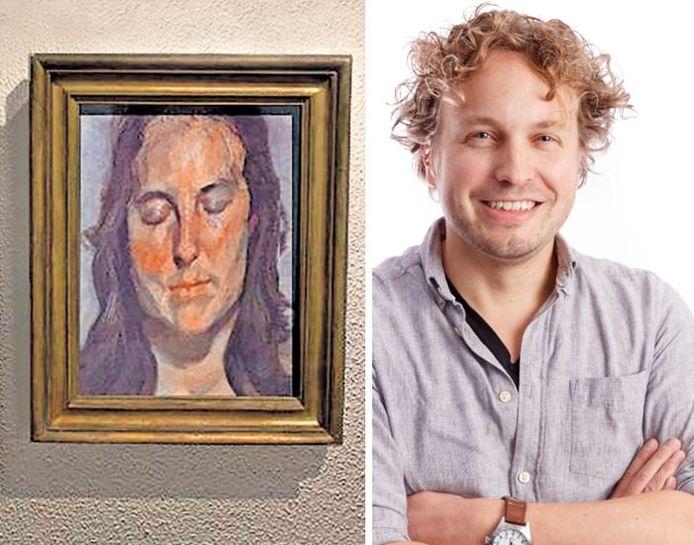 Ook na de foto van het schilderij van Freud, werd het doek niet teruggevonden, zag columnist Niels Herijgens.