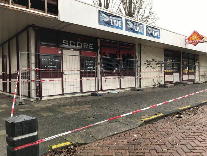 Door een brand zijn lounge The Score en snackbar 't Haasje in Maassluis tijdelijk gesloten