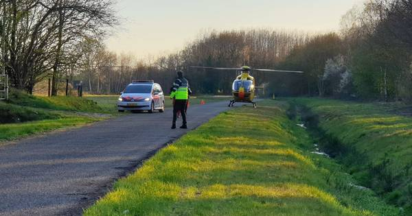 Jongen gewond door ongeluk met crossmotor in Hengelo.
