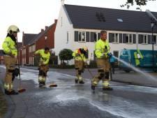 Flink oliespoor door woonwijk Schijndel