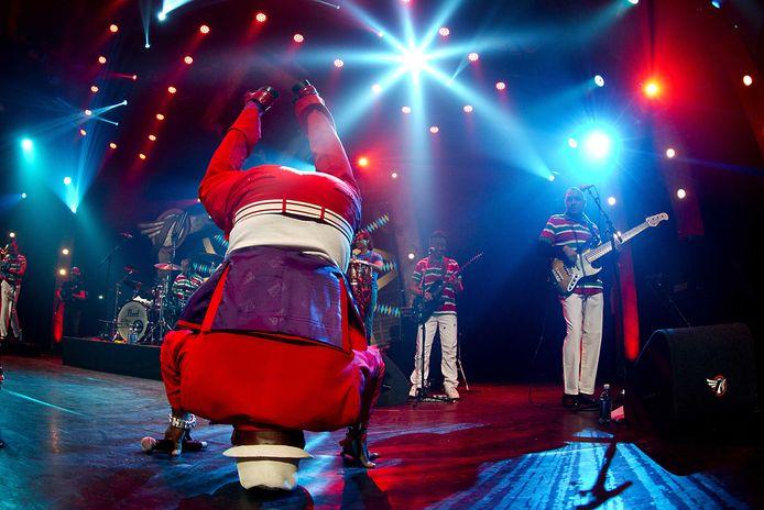 Een optreden van Trafassi tijdens Eurosonic Noorderslag