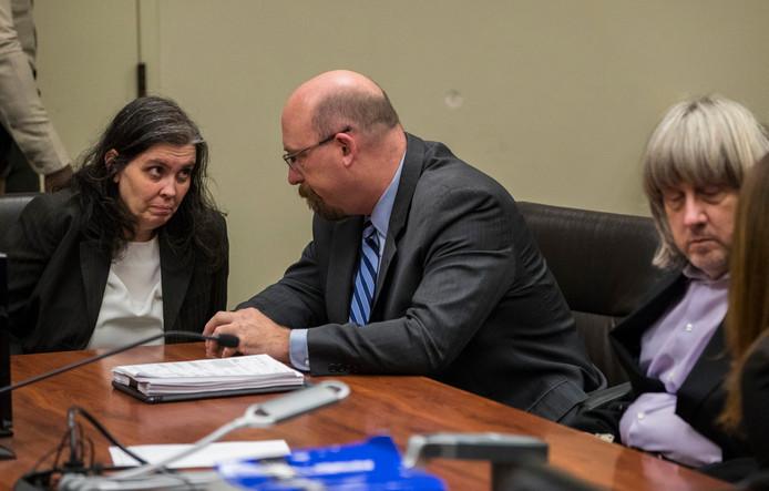 Louise en David Turpin pleiten allebei onschuldig.