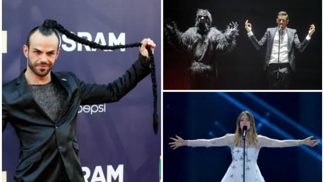Dansende aap, zwiepende paardenstaart én Blanche: de opvallendste inzendingen voor Songfestival Kiev
