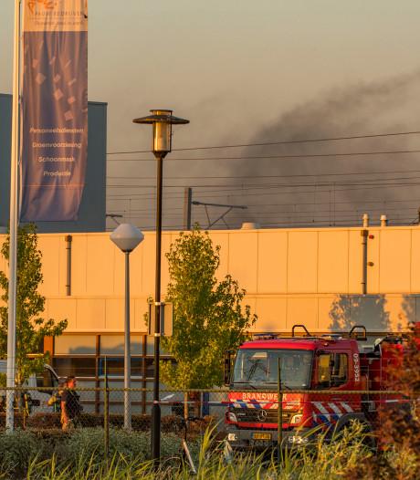 Brand in productiehal langs A2 bij Breukelen onder controle