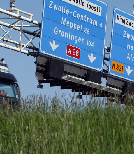 Twee weekenden A28 bij Zwolle op slot: hou rekening met files