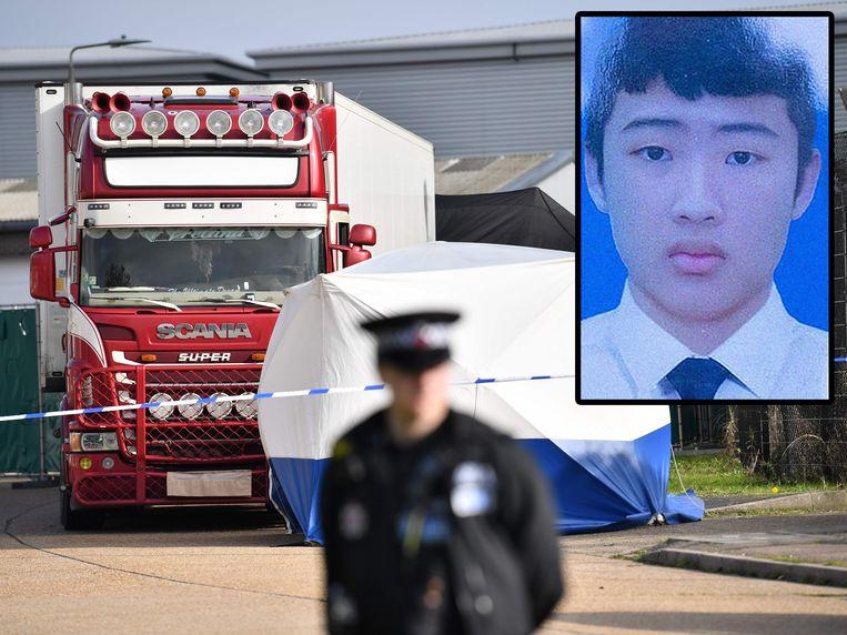 Tran Ngoc Hieu stierf in een koeltruck tijdens de oversteek naar Groot-Brittannië. Beeld AFP