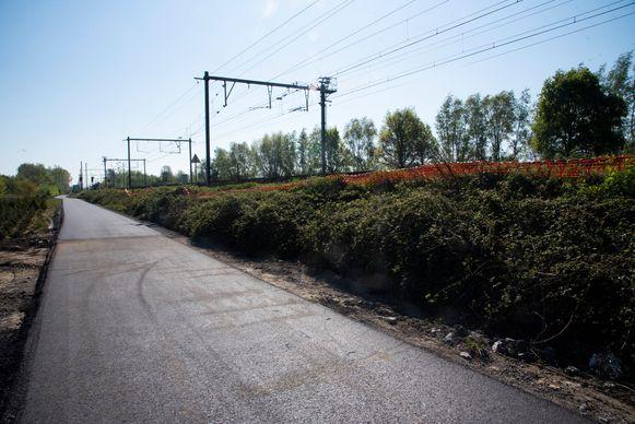 De fietssnelweg tussen Wetteren en Schellebelle is bijna klaar.