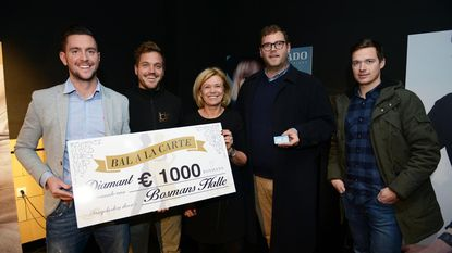 Guillaume wint diamant van 'Bal à la Carte'