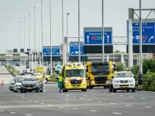 A2 bij Utrecht grotendeels dicht na ongeval