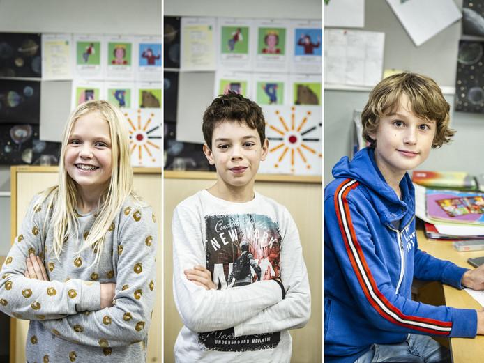 Myrthe, Jasper en Jesper