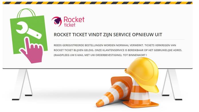 Rocket Ticket zegt bezig te zijn zichzelf opnieuw uit te vinden.