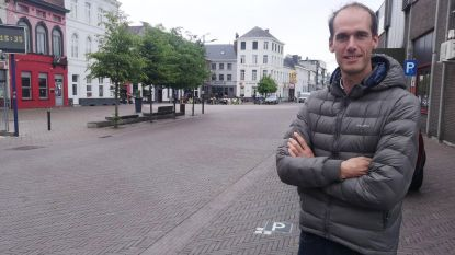 Aankomst tweede rit Baloise Belgium Tour op Stationsplein
