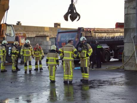 Opnieuw incident bij Ter Horst: vrachtwagen met accu's in brand