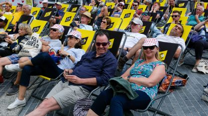 Zo beleefde Brussel de Tour de France