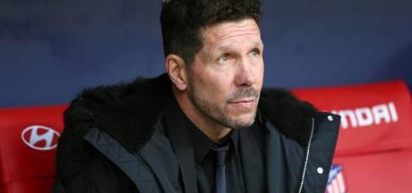 Diego Simeone tot 2022 coach van Atlético Madrid