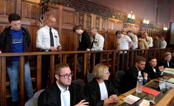 Procès des cinq accusés de l'assassinat de Valentin Vermeesch