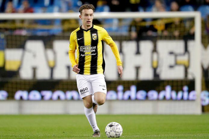 Patrick Vroegh in actie voor Vitesse.