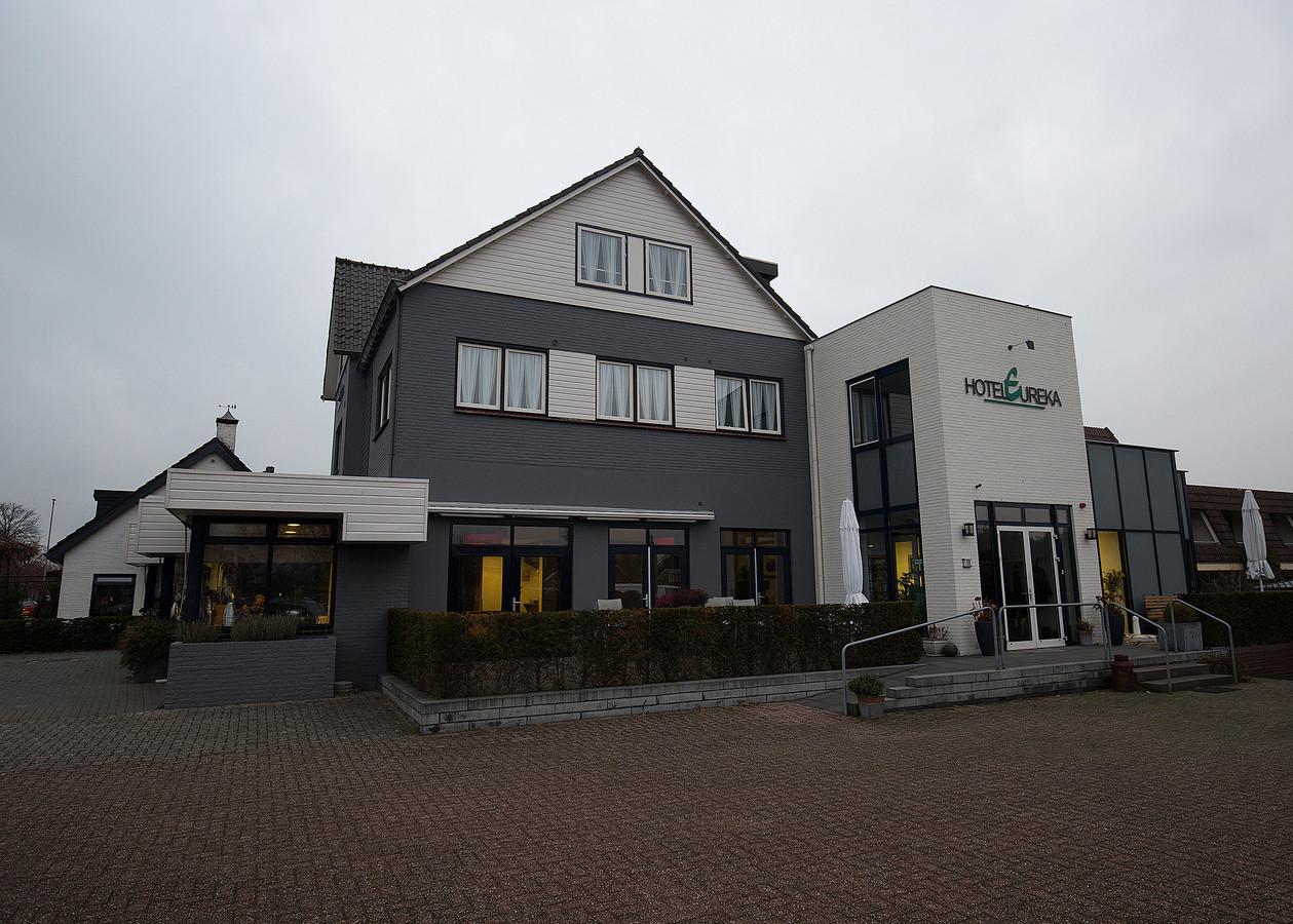 In hotel Eureka in Zeddam zijn sinds tweeënhalf jaar arbeidsmigranten gehuisvest.