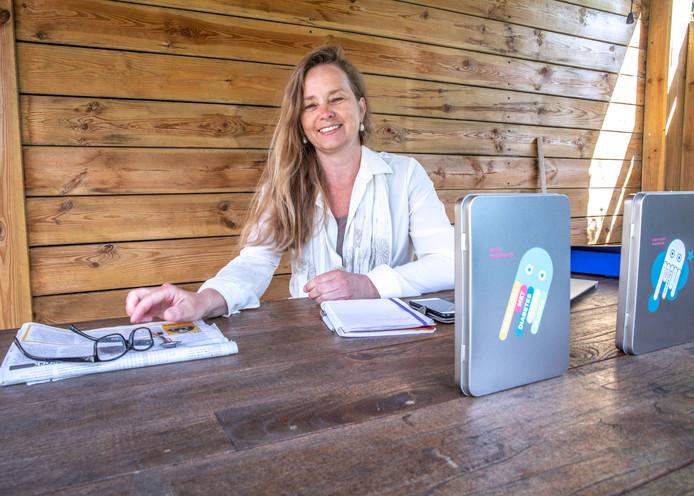 Lydia Braakman uit Zwolle, directeur van Stichting Zorgeloos met Diabetes naar School.