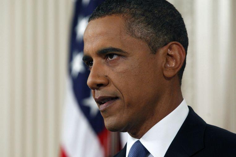 Obama krijgt veel weerstand van de Republikeinen. Beeld getty