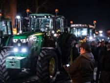 Boeren op weg naar Den Haag in Drenthe van de weg gehaald door politie: 340 euro boete