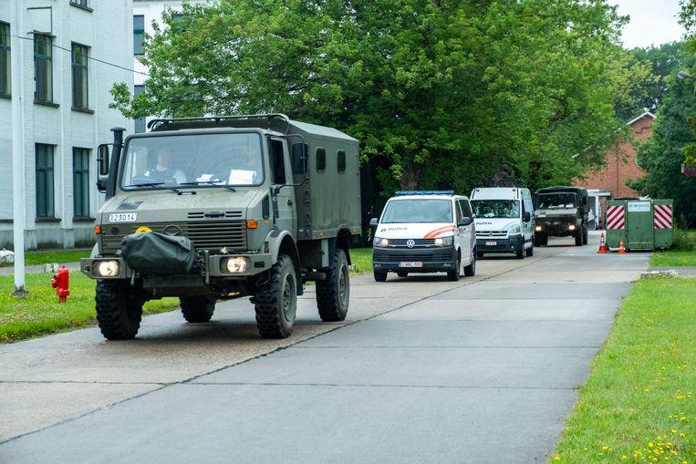 Defensie en de lokale politiezones werken samen om op het gigantisch gebied te patrouilleren.