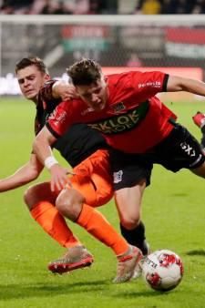 NEC imponeert niet, maar wint wel van Jong PSV