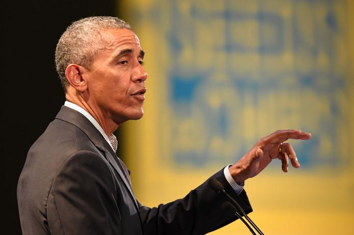 Voormalig Amerikaans president Barack Obama.