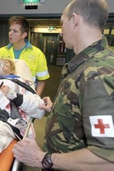 Krijgsmacht schiet verzorgingshuis in Heerde te hulp met militaire verplegers
