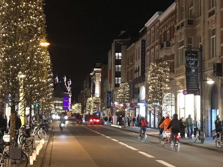 Leuven kiest zoals de voorbije jaren voor duurzame kerstverlichting.