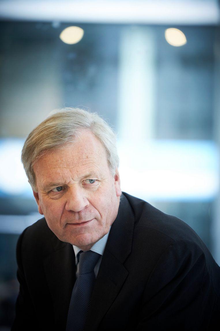 De geopolitieke vakantie is voorbij, zei Jaap de Hoop Scheffer. Beeld Martijn Beekman