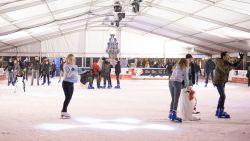 Ijspiste en kerstmarkt in Oudenaarde feestelijk geopend