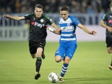 FC Groningen en PEC Zwolle vinden het net volop tegen elkaar