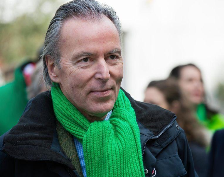 Elco Brinkman (70) kondigde vandaag zijn vertrek uit de politiek aan. Beeld anp