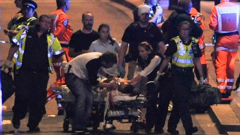In Londen is opnieuw een aanslag gepleegd. Beeld afp