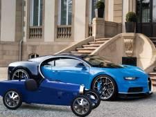 Bugatti onthult '3d-geprinte' elektrische versie van klassieke raceauto uit 1924