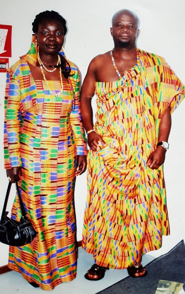 17 OKTOBER | Slachtoffer Emmanuel Ampabeng Kyeremeh (50) en zijn echtgenote Gloria Serwaa Adjei.