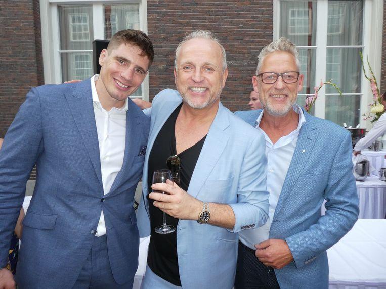 Kickbokser Rico Verhoeven, entertainer Gordon en zijn broer Johny Heukeroth. Terechte winnaar? Gordon: