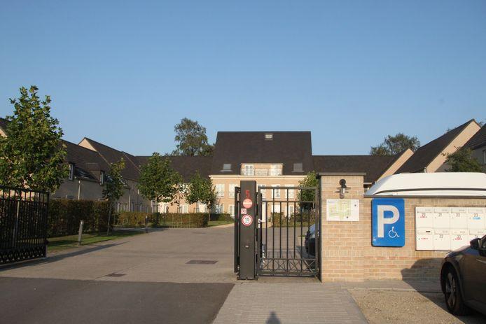 De cannabisplantage bevond zich in een woning in een recent woonresidentiepark in Lichtervelde.