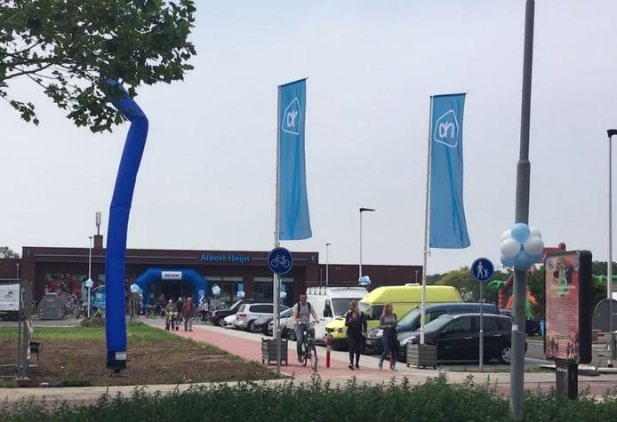 De nieuwe Albert Heijn aan de Groenestraat in Nijmegen.