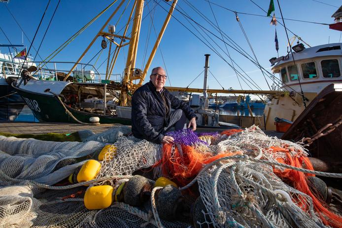 Johan Nooitgedagt, voorzitter van de Nederlandse Vissersbond.