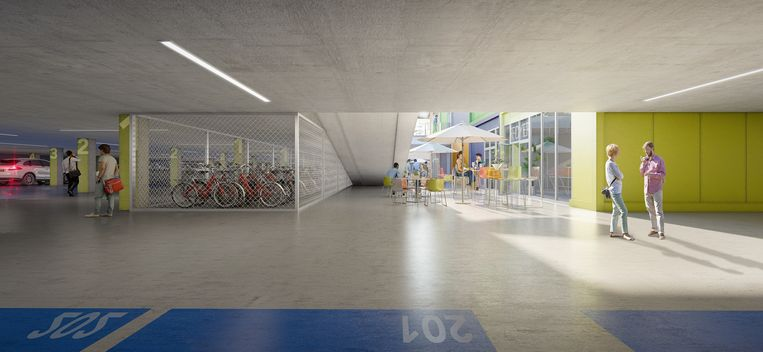 Project Maes en Boereboomplein in Knokke-Heist