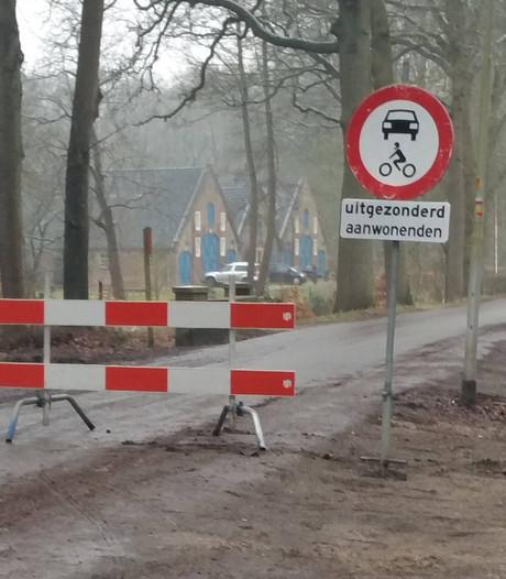 Wegafsluiting  in Renkum massaal genegeerd: tientallen boetes