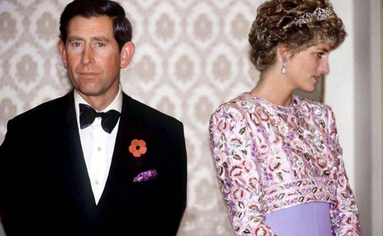 Prins Charles en prinses Diana.