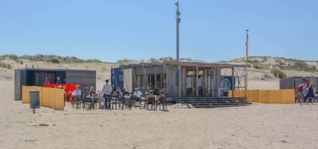Zeecafé mag illegaal strandterras nu toch gebruiken