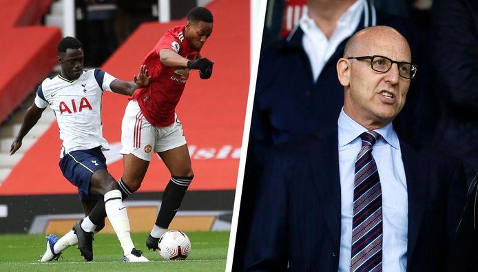 Tottenham en Man United zijn clubs die achter de competitiehervorming staan. Rechts ziet u United-eigenaar Joel Glazer. Een van de drijvende krachten achter het idee.